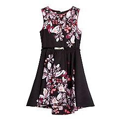 Baker by Ted Baker - Girls' black jewel print prom dress