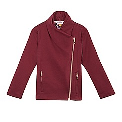 Baker by Ted Baker - Girls' red ponte jacket