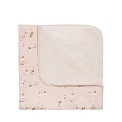 Baker by Ted Baker - Girls' pink bunny print blanket