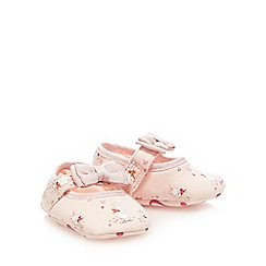 Baker by Ted Baker - Girls' pink bunny rip tape shoes