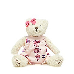 Baker by Ted Baker - Off white floral dress teddy bear