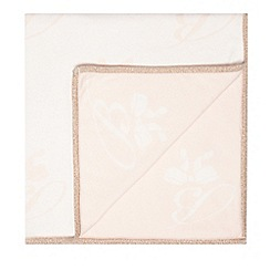Baker by Ted Baker - Girls' light pink knitted blanket