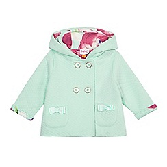 Baker by Ted Baker - Baby girls' light green quilted jacket