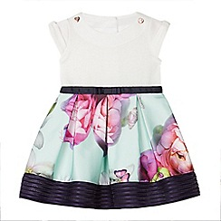 Baker by Ted Baker - Baby girls' multi-coloured floral print dress