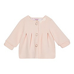 Baker by Ted Baker - Baby girls' light pink quilted swing jacket