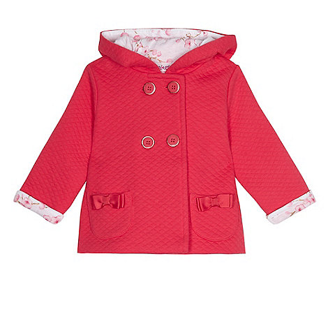 Baker by Ted Baker - Baby girls+ pink quilted jacket