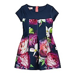 Baker by Ted Baker - Navy floral print scuba dress