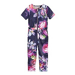 Baker by Ted Baker - Multi-coloured floral print jumpsuit