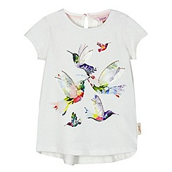 Baker by Ted Baker - Girls' white hummingbird print top