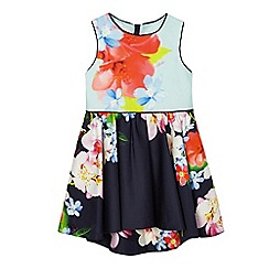 Baker by Ted Baker - Girls' multi-coloured floral print dress