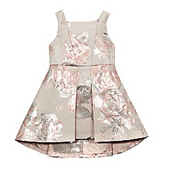 Baker by Ted Baker - Girls' pink rose print dress