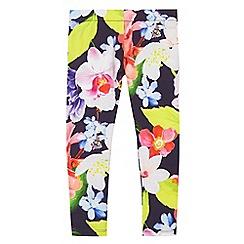 Baker by Ted Baker - Girls' multi-coloured floral print leggings