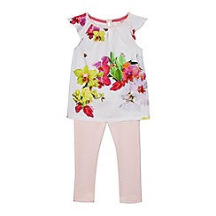 Baker by Ted Baker - Girls' multi-coloured top and leggings set
