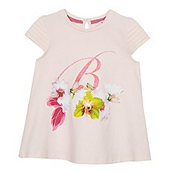 Baker by Ted Baker - Girls' pink graphic front top