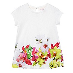 Baker by Ted Baker - Girls' multi-coloured floral hem top