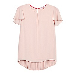 Baker by Ted Baker - Girls' light pink angel sleeve top