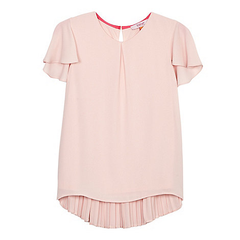 Baker by Ted Baker - Girls+ light pink angel sleeve top