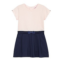 Baker by Ted Baker - Girls' pink textured playsuit