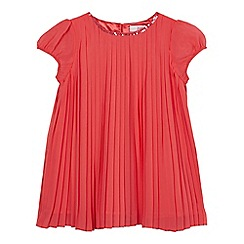Baker by Ted Baker - Girls' pink pleated top