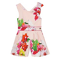 Baker by Ted Baker - Girls' light pink orchid playsuit