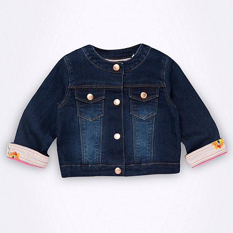 Baker by Ted Baker - Babies dark blue denim jacket