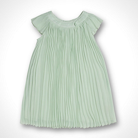 Baker by Ted Baker - Babies light green pleated dress