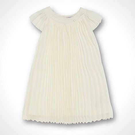 Baker by Ted Baker - Babies cream pleated dress