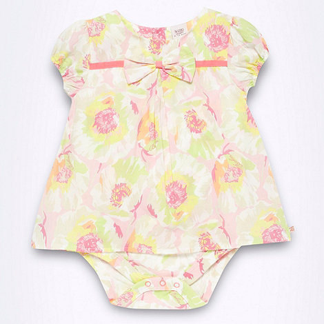 Baker by Ted Baker - Baby girl+s multi coloured floral two in one suit