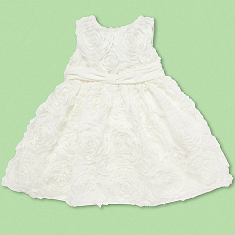 Baker by Ted Baker - Babies cream cornelli dress