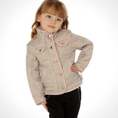 Baker by Ted Baker - Girl+s natural quilted jacket