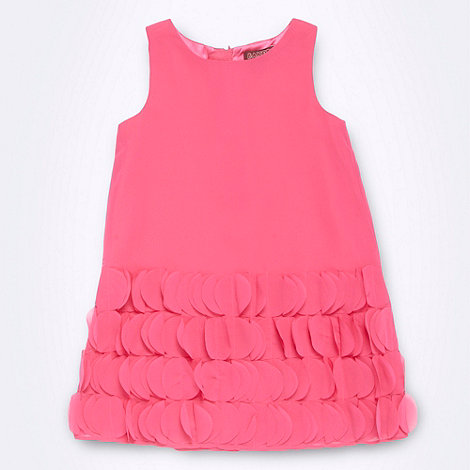 Baker by Ted Baker - Girl+s bright pink circle skirt dress