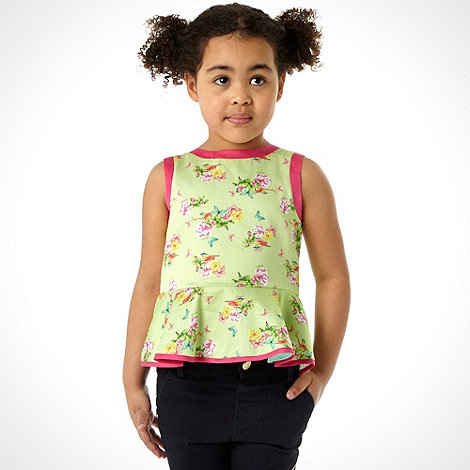 Baker by Ted Baker - Girl+s green garden top