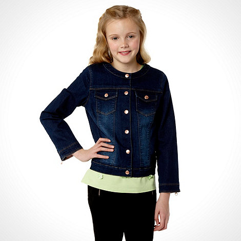 Baker by Ted Baker - Girl+s blue denim jacket