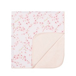 Baker by Ted Baker - Baby girls' white blossom print blanket