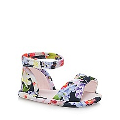 Baker by Ted Baker - Baby girls' multi-coloured floral print sandals