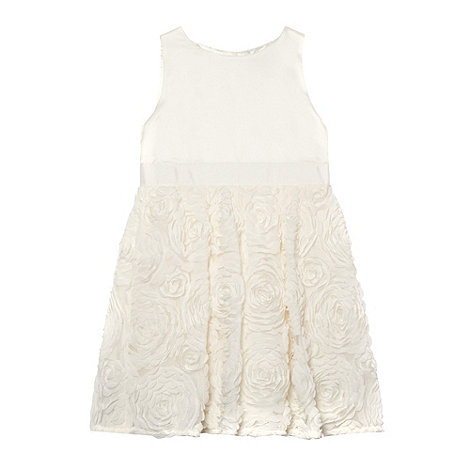 Baker by Ted Baker - Girl+s white cornelli dress