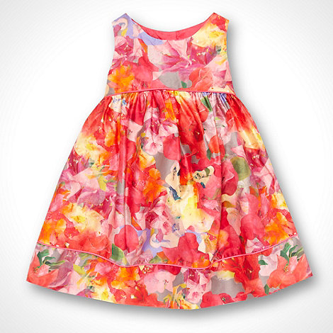 Baker by Ted Baker - Girl+s pink floral party dress