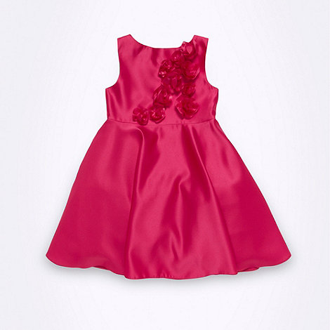 Baker by Ted Baker - Girl+s pink scatter rose dress