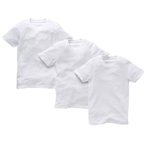 bluezoo - Boy+s pack of three cotton t-shirts