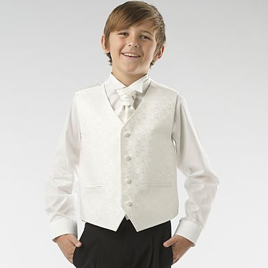 Eight Pageboys Aged Two To Seven We Had Year Olds Got The Shirt Waistcoat And Cravat Set From Blue Zoo At Debenhams