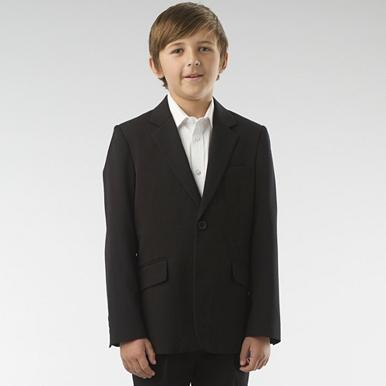 Boy's black suit jacket