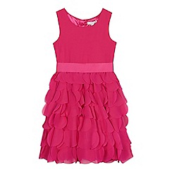 RJR.John Rocha - Girls' pink layered circle dress