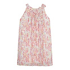 RJR.John Rocha - Girls' pink chiffon dress