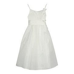 RJR.John Rocha - Girls' ivory butterfly applique dress