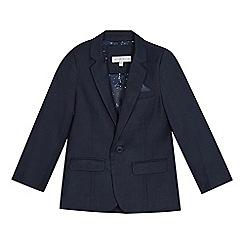 RJR.John Rocha - Boys' navy birdseye jacket
