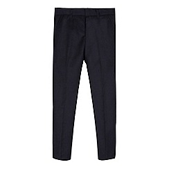 RJR.John Rocha - Boys' navy birdseye slim fit trousers