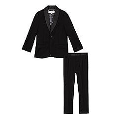 RJR.John Rocha - Boys' black tuxedo set