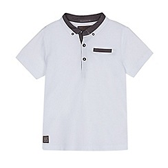 RJR.John Rocha - Boys' white chambray trim polo shirt