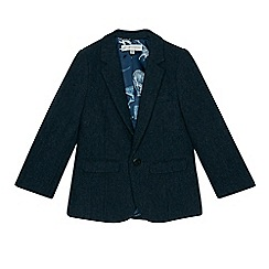 RJR.John Rocha - Boys' navy wool blend blazer