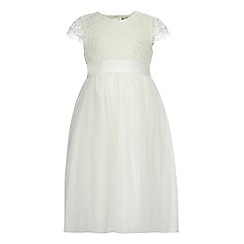 RJR.John Rocha - Girls' ivory lace dress